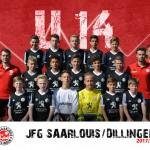 U14-Junioren: 4:1 Erfolg gegen Fraulautern