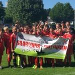 U13-Junioren – Saarlandmeister! Der Saisonendspurt