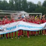 Lob von allen Seiten — D-Junioren (U13) der JFG werden verdient Saarlandpokalsieger
