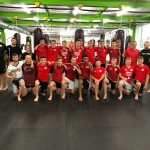 U17 beim Thaiboxtraining