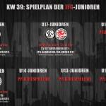 KW 39 – Spieltagsvorschau