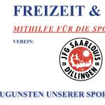 Aktion zugunsten unserer Sportjugend!