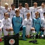 U13 Junioren überwintern auf Platz 3 in der Landesliga und starten gut in die Hallenrunde!